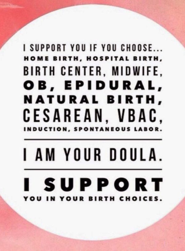 Looking for a doula? Here's what you need to know.