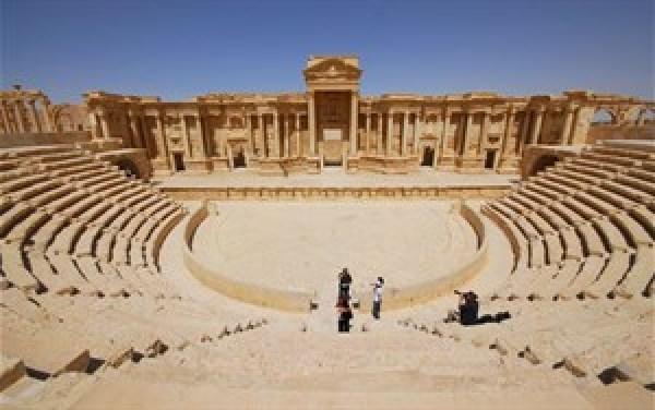 Die historische Stadt Palmyra hatte es geschafft, ein Schmelzpunkt der Kulturen zu werden.