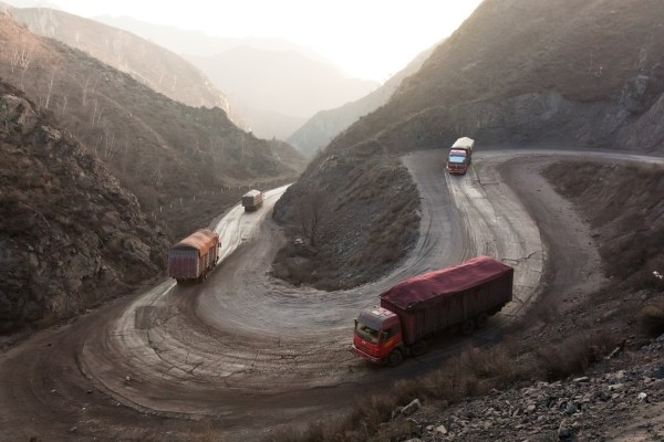 Kohle Transport