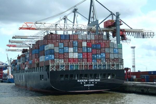 Containerschiff_Hanjin