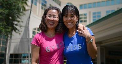 Südkoreanische Schwestern vereint