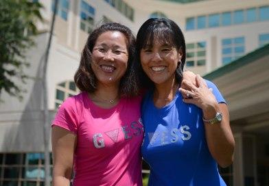 Südkoreanische Schwestern nach Jahrzehnten wieder vereint