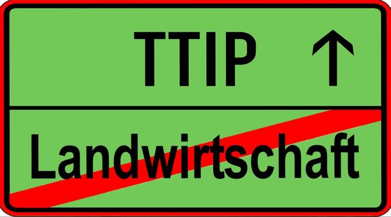 Logo TTIP Landwirtschaft