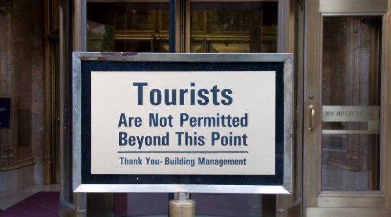 Chinesische Touristen unerwünscht