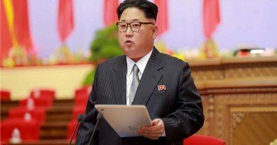 Kim Jong Un mit Tablet-PC