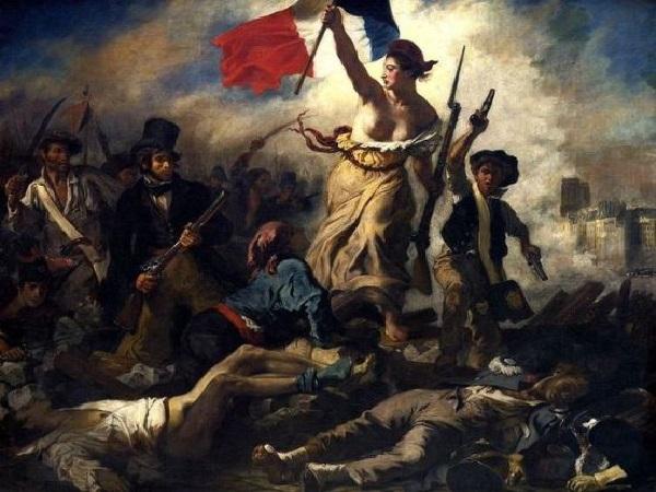 Die Freiheit führt das Volk, 1830
