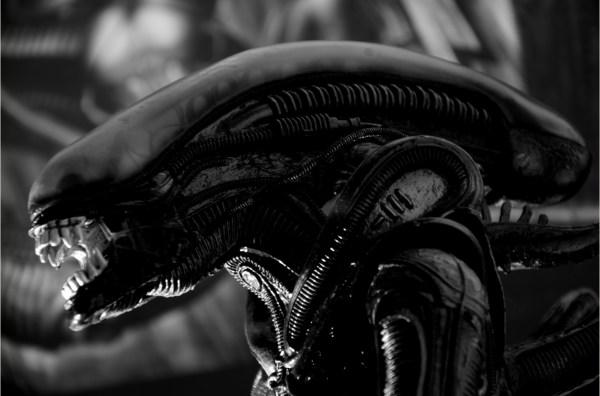 Das Alien von HR Giger