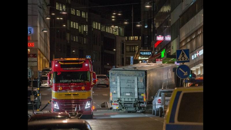 Anschlag in der Stockholmer Innenstadt.