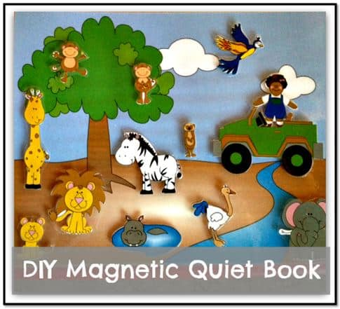 magnetic quiet book