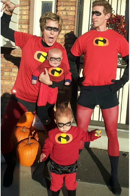 incredibles halloween costume