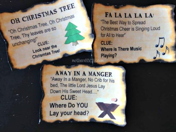 12 Days of Christmas For Kids: Treasure Map Style!