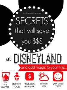 Awesome Disneyland tips! I had never heard of most of them!