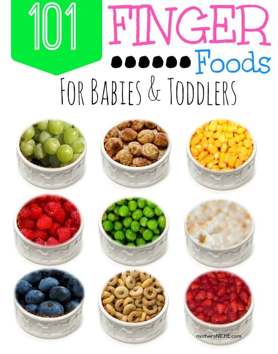 Variety Of Foods For Babies