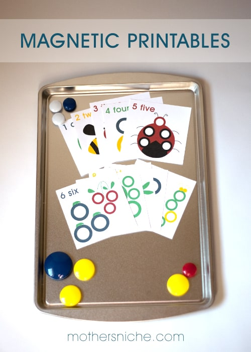 Kids LOVE these! Free magnetic printables, perfect for busy bags, or quiet time!