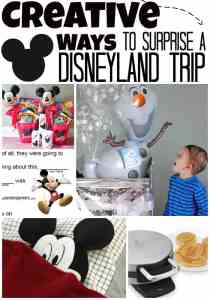 Fun Ways to Surprise Your Kids with a Trip to Disneyland!