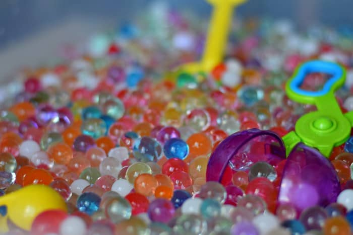 Fun things to do with water beads!