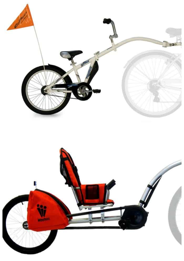 Bike Seat Options for Kids old enough to pedal