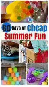 60 Days of CHEAP Summer Fun!