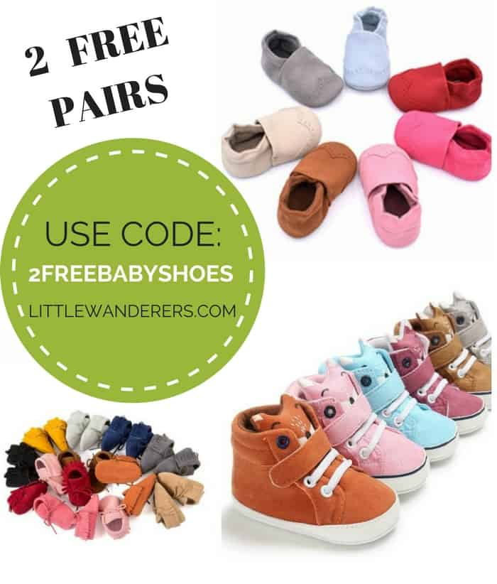 Free Baby Shoes and Other Freebies for Pregnant Moms