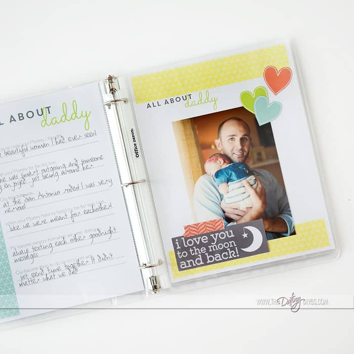 """Our Love Story For Baby"" Memory Book"