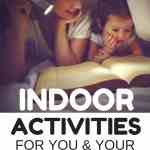 So many fun indoor activities to enjoy with the kids during winter, or rainy summer days!