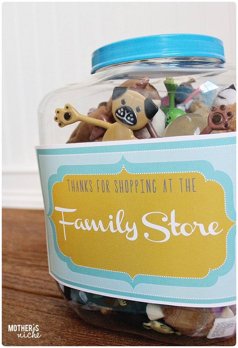 Family store printables! These are so so cute!