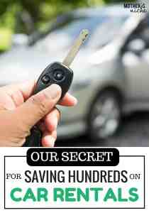My Secret For Getting the Very Cheapest Car Rental Rate