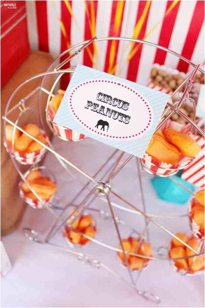 Ferris Wheel Circus Peanuts