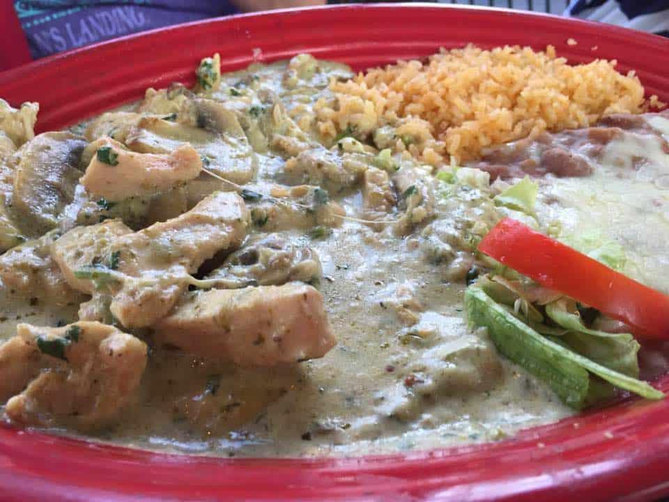 Pollo Durango at Cafe Sabor