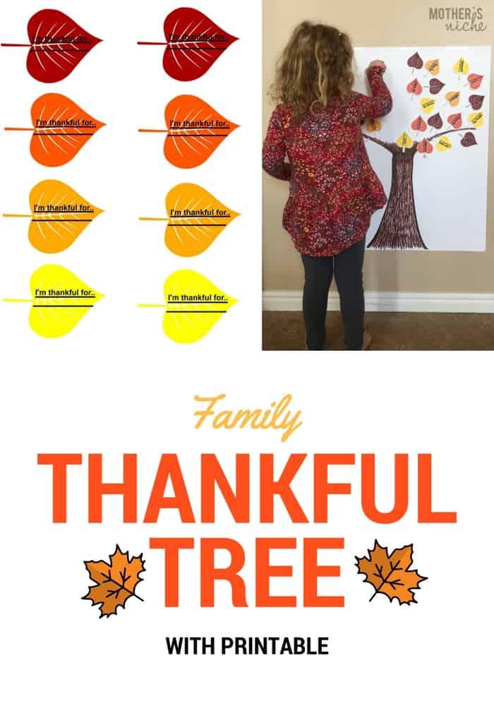 Family Thankful Tree
