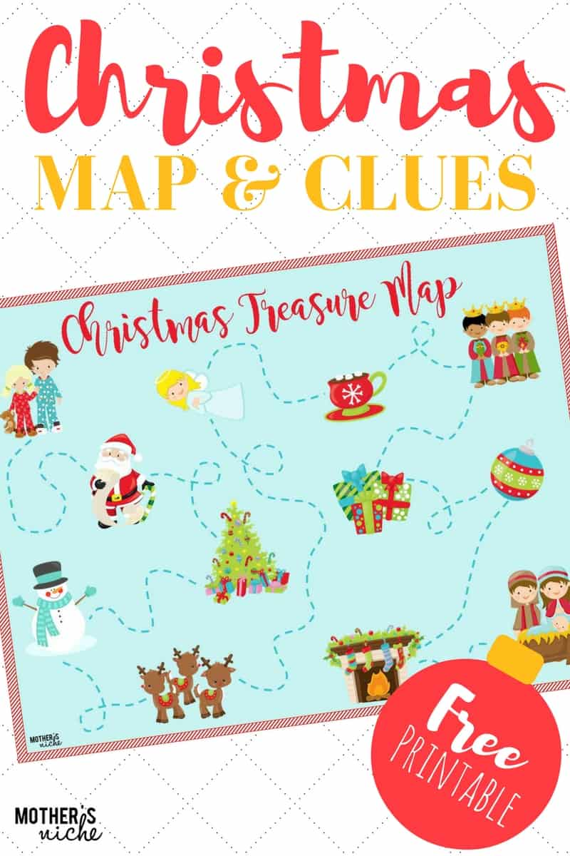 Christmas Party Scavenger Hunt Ideas Part - 46: Christmas-map