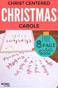CHRIST-CENTERED CHRISTMAS CAROLS: FREE PRINTABLE
