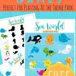 sea-world printable games