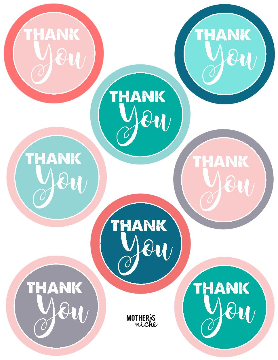 15 teacher gift ideas  free printable  u0026quot thank you u0026quot  tags