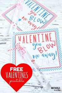 Happy Valentine's Day: Adorable FREE Valentine's printable that will BLOW you away!