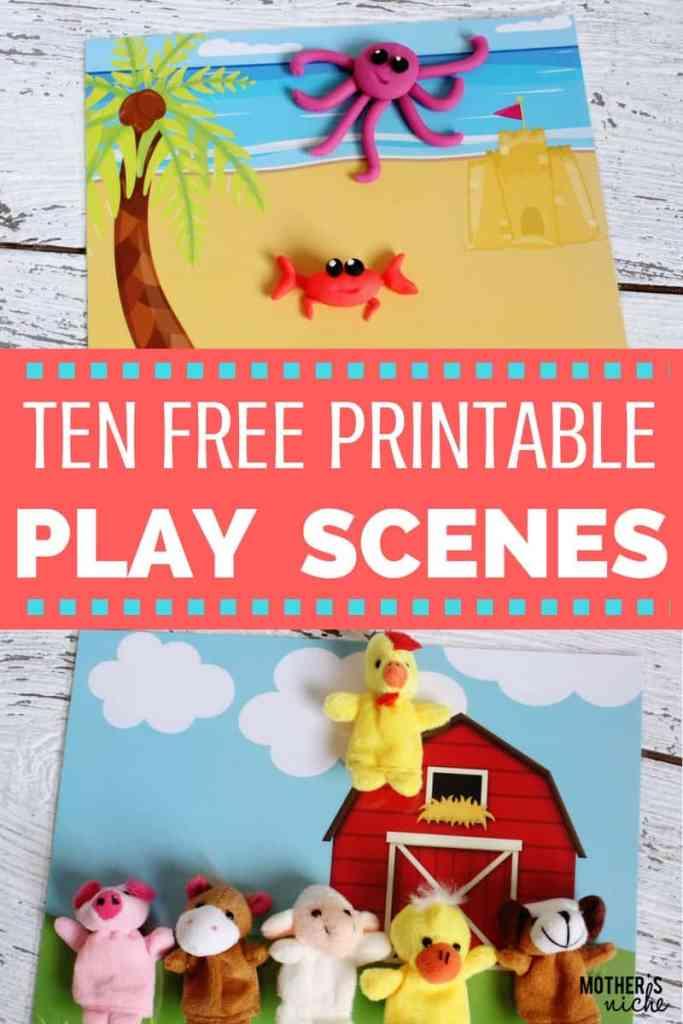 PLAY SCENES PRINTABLES