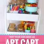 HOW TO MAKE AN ART CART!