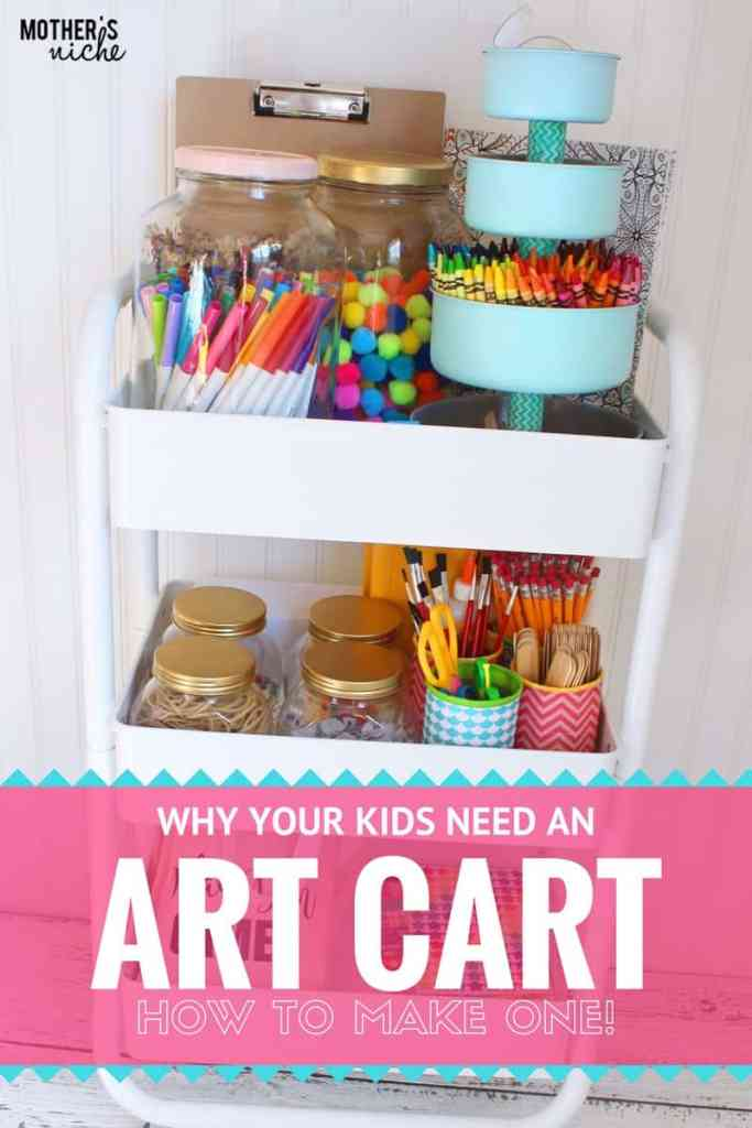 HOW TO MAKE AN ART CART!