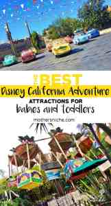 Best Disney California Adventure Attractions for Babies and Toddlers