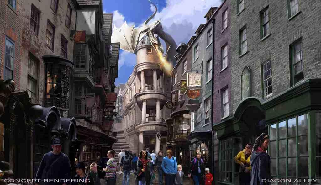 Diagon Alley - Universal Studious Orlando