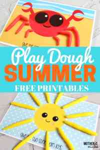 Play Dough Mat Busy Bags- SUMMERTIME EDITION