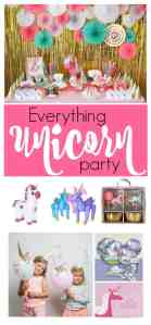 Party Ideas for the Perfect Unicorn Party