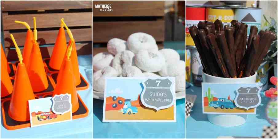 Lightning McQueen Cars party is Perfect for a little boy party!