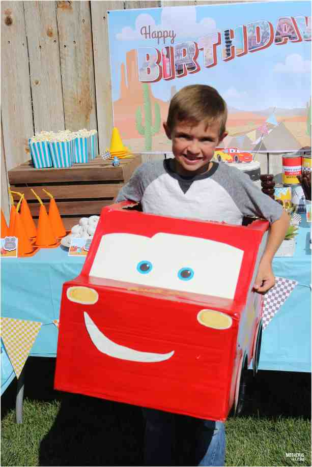 Lightning McQueen Cars Party is perfect for any little boy party!