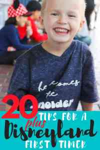 20 Plus Tips for a Disneyland First timer!