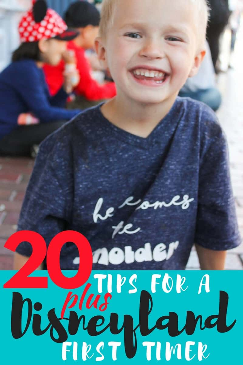Tips for Your First Time to Disneyland