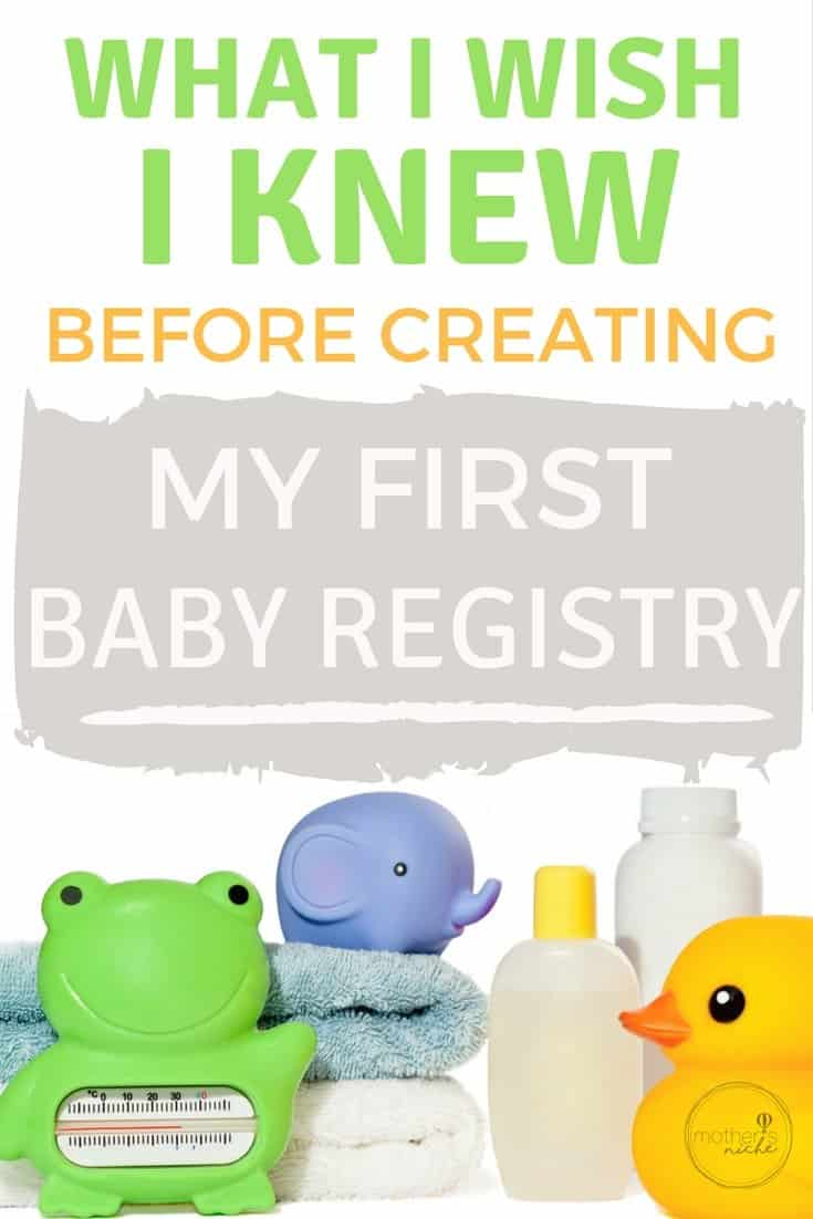 Creating an Amazon Baby Registry - What I wish I knew With my First!
