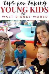 Tips for Taking Young Kids to Walt Disney World®