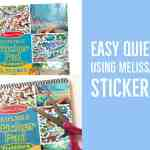 How to make a really easy Sticker Pad Quiet Book Using Melissa & Doug Stickers