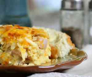 Sausage Hashbrown Breakfast Casserole (A Family Favorite)